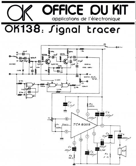 Signal tracer